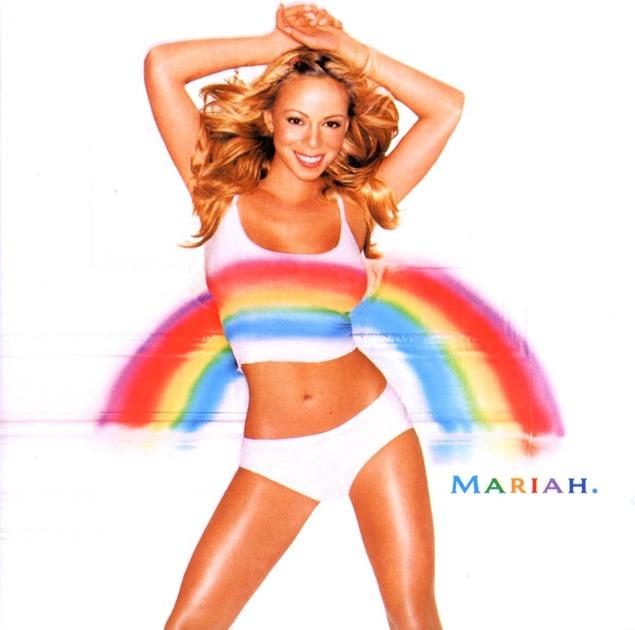 Mariah_Carey-Rainbow-bikini blanco