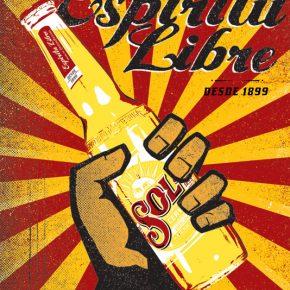 cerveza sol espiritu libre