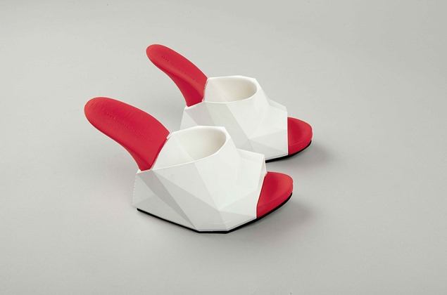 """Float"" los zapatos impresos en 3D de United Nude"