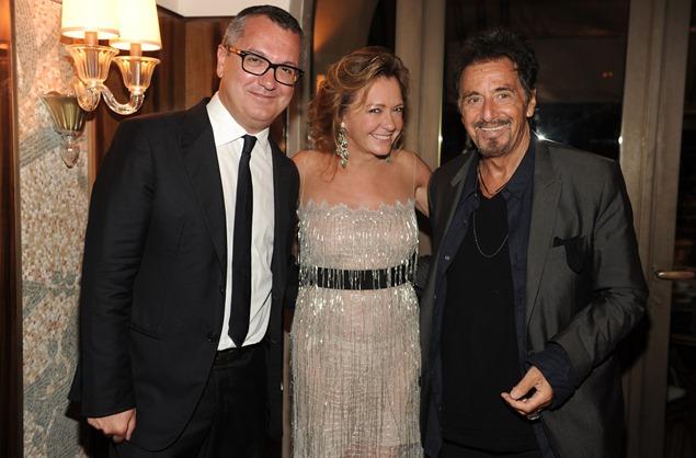 Luca Dini;Caroline Scheufele;Al Pacino