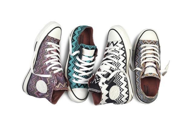 Zig – zag a tus pies con las zapatillas Converse y Missoni