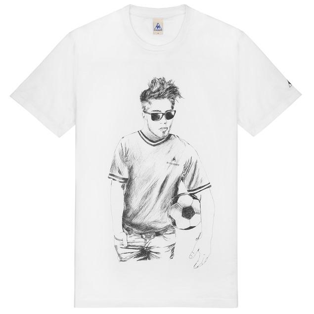 Le coq sportif presenta camisetas diseñadas por Philippe Beroca