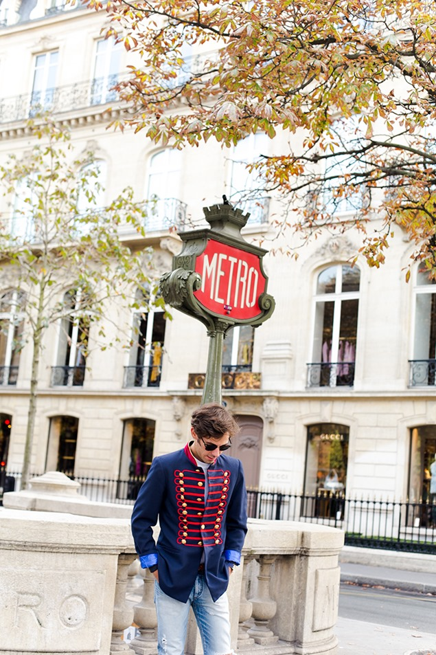 Manuel Ordovas PFW Eclectic Streetstyle
