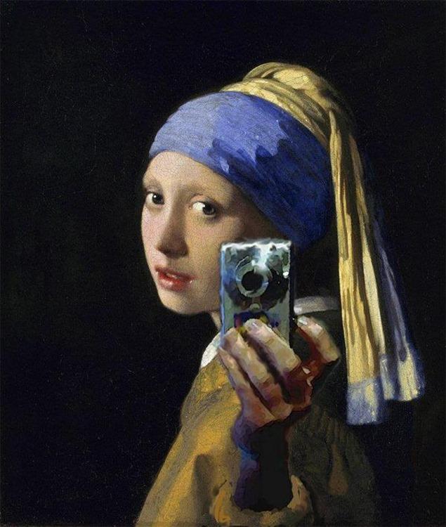 Opinión amarilla Selfie Descontrol