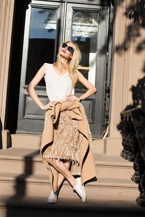 Poppy Delevigne Garance Dore Happy Diamonds Chopard Street style look