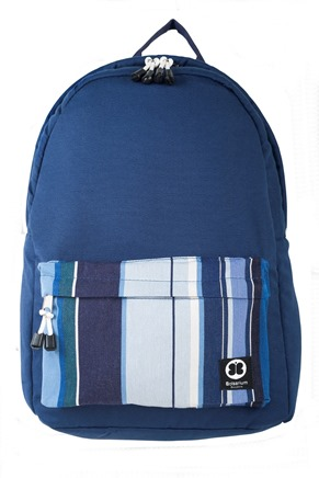 Terra Back Pack Blue Front View (Copy)