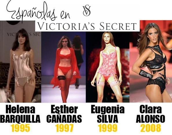 españolas en victorias secret