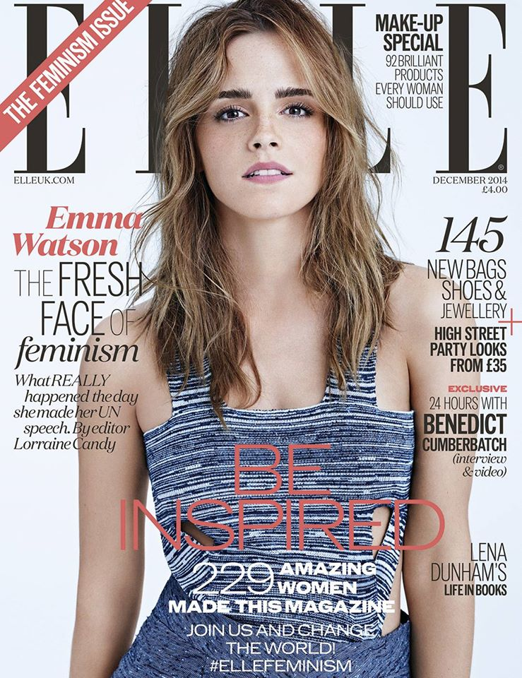 portada feminista moda emma watson elle