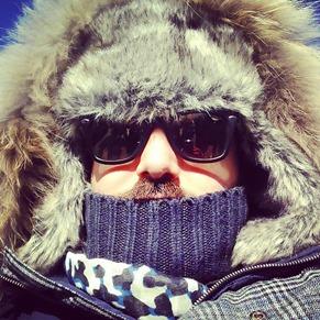 Estilo diario Un día en la nieve sierra nevada gafas amarillas (11)
