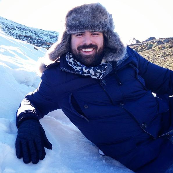 Estilo diario Un día en la nieve sierra nevada gafas amarillas (12)