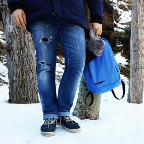 Estilo diario Un día en la nieve sierra nevada gafas amarillas (3)