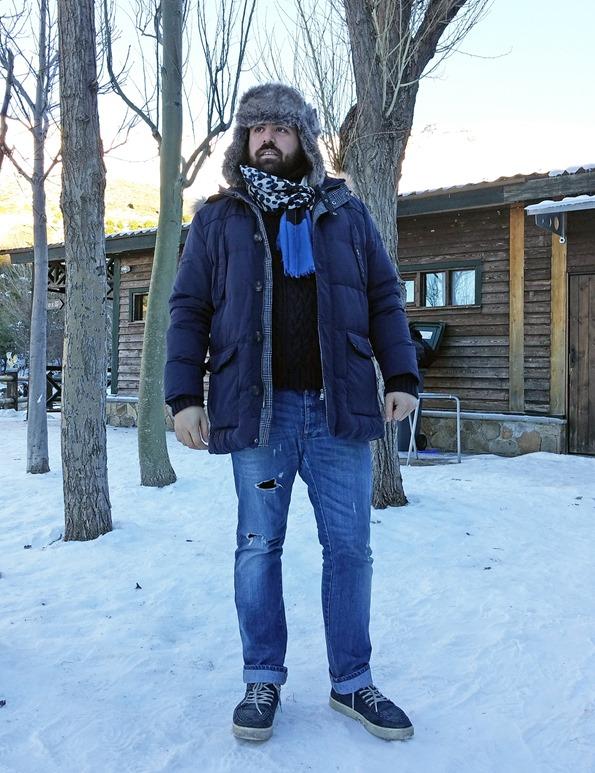 Estilo diario Un día en la nieve sierra nevada gafas amarillas (5)