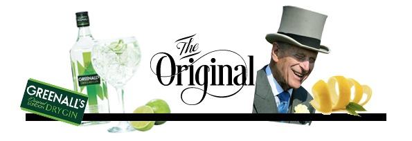 The gin collection Greenalls Felipe de Edimburgo