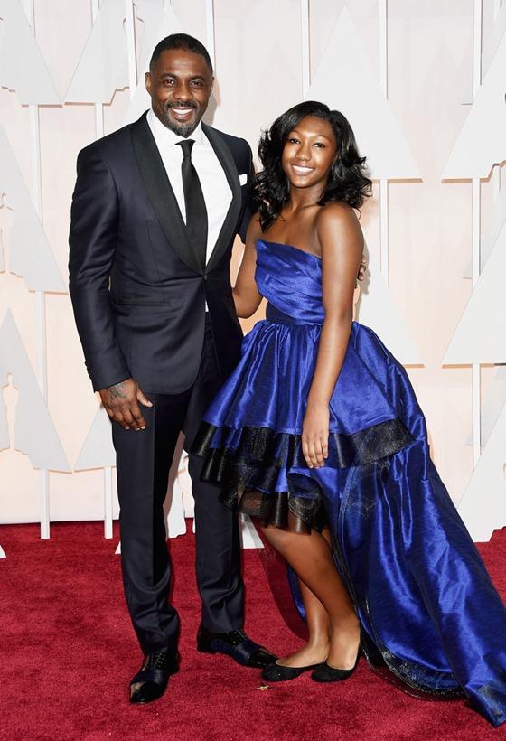 Idris Elba e Isan Elba oscar 2015
