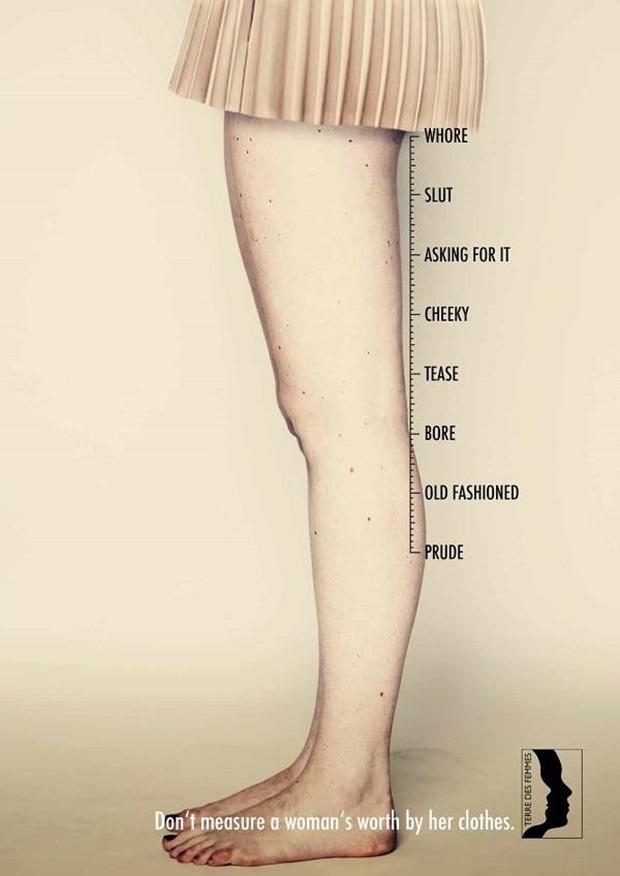 Imperdible No midas a una mujer por su ropa (2)