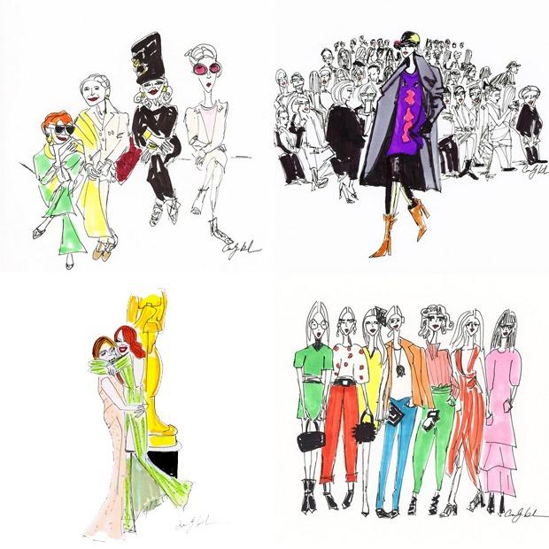 Instagram arte moda the cartorialist