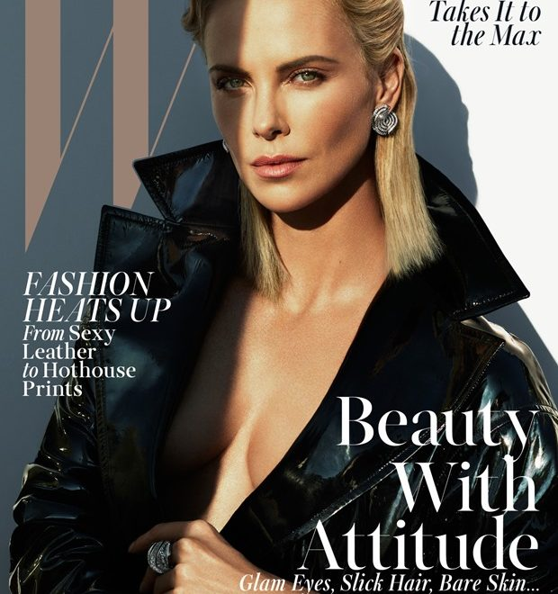 Editorial: Charlize Theron en Mad Beautiful de WMAG