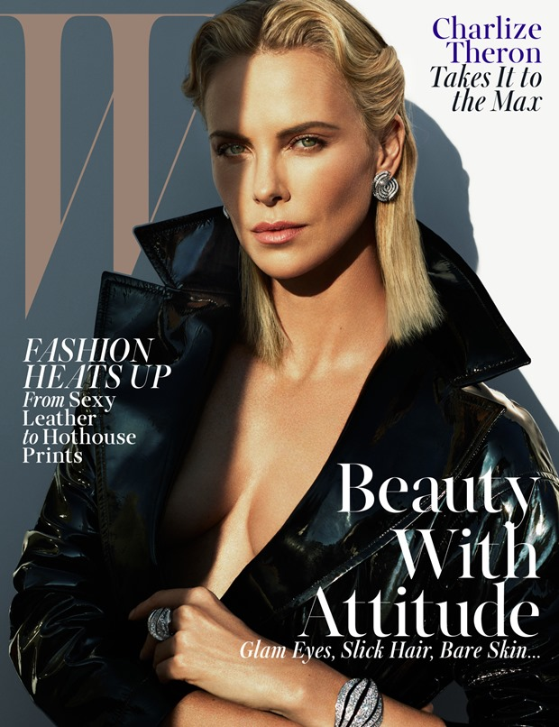 Editorial Charlize Theron en Mad Beautiful de WMAG (1)