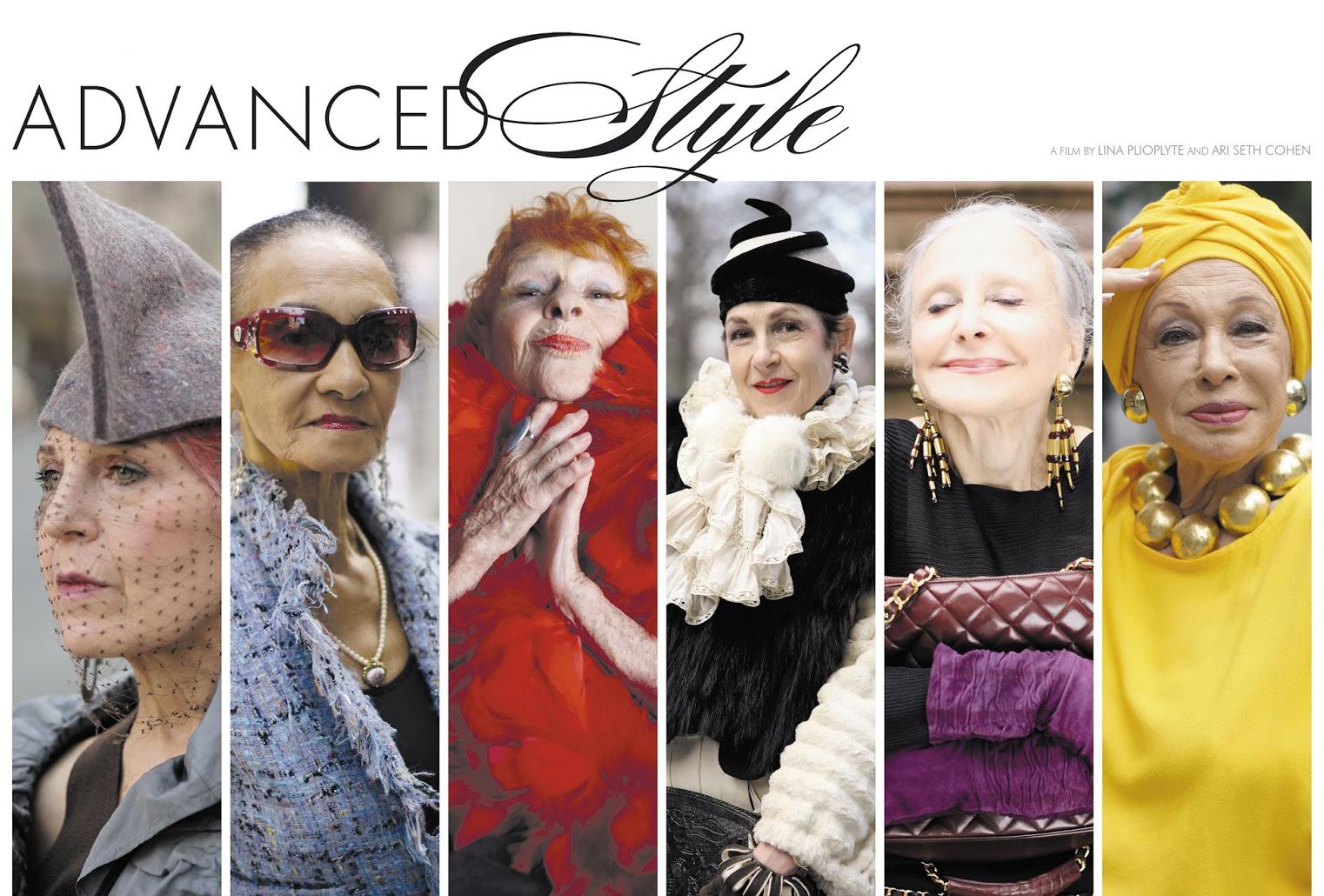 El estilo no tiene edad… Advanced Style
