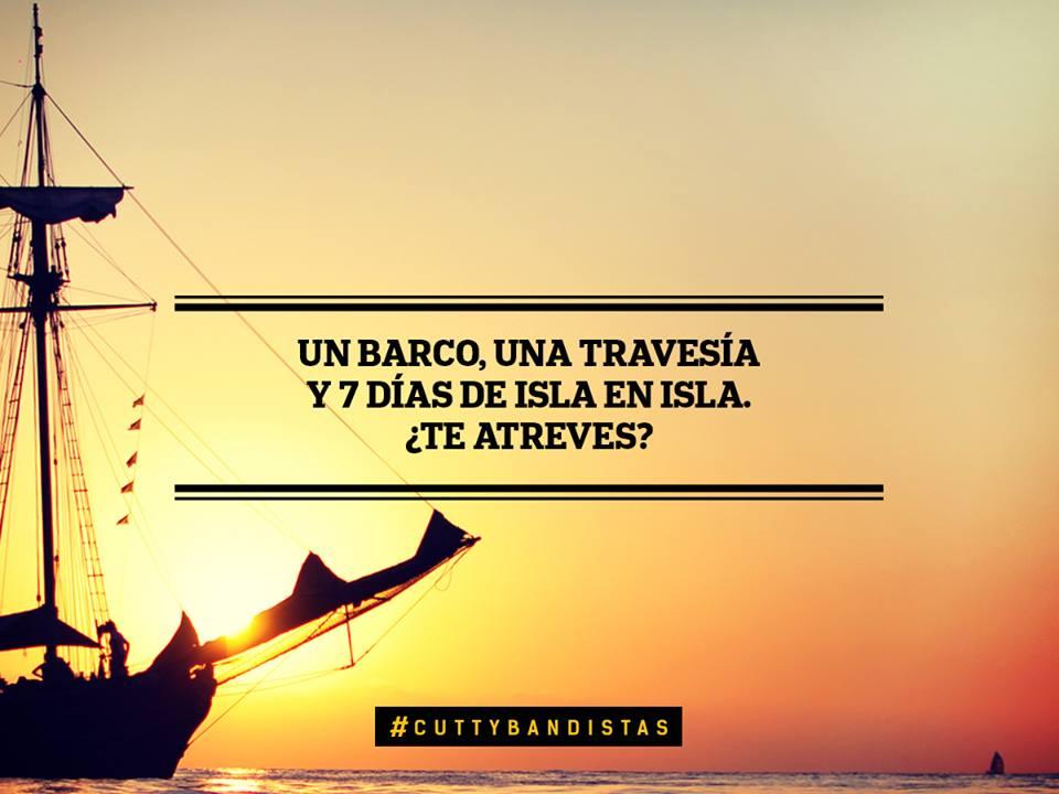 Vamos a vivir una aventura en el Mediterraneo ¿te apuntas? #cuttybandistas