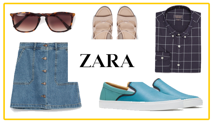 5 夏季必备: Zara