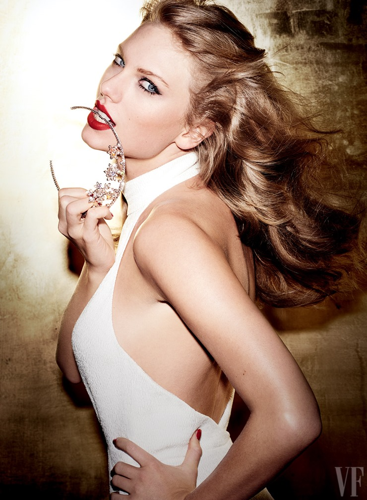 Mario Testino Taylor Swift Vanity Fair  (2)