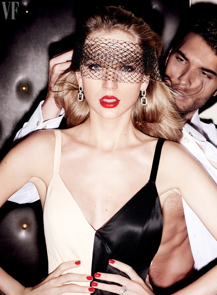 Mario Testino Taylor Swift Vanity Fair  (3)
