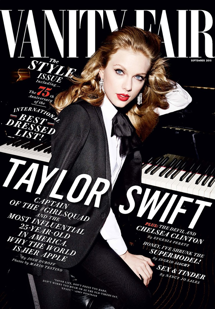 Mario Testino Taylor Swift Vanity Fair  (7)