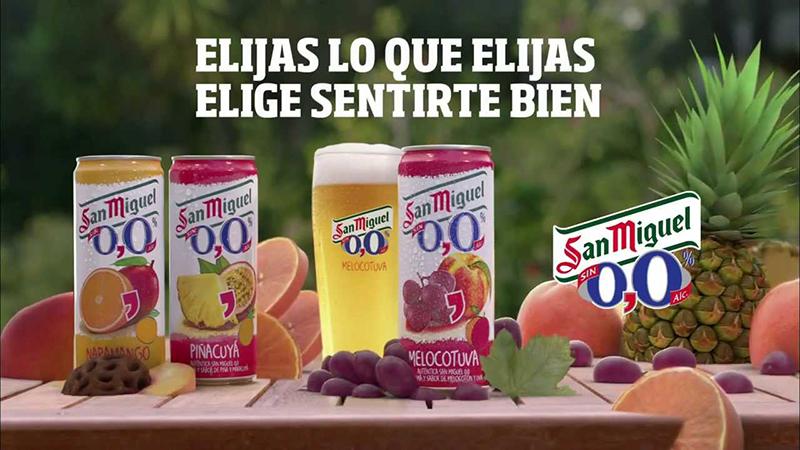 San Miguel revoluciona las cervezas ¡Dándole sabores!