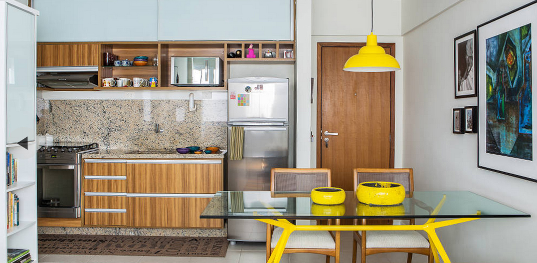 A yes to the fun kitchens