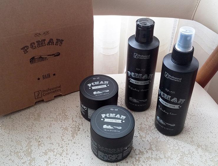 review pcman cabello hombre profesional cosmetics