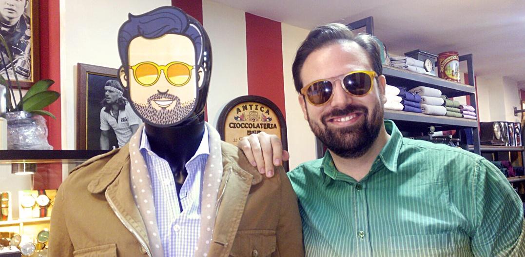 Experiencia Gafas Amarillas: Escaparate para Harper & Neyer