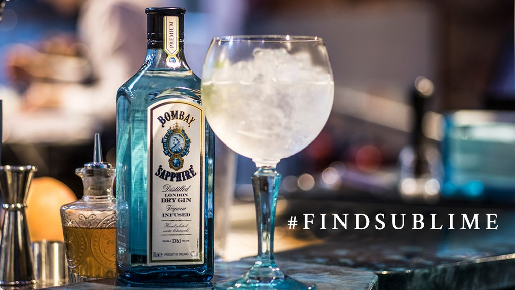 Bombay Sapphire campaña Sublime