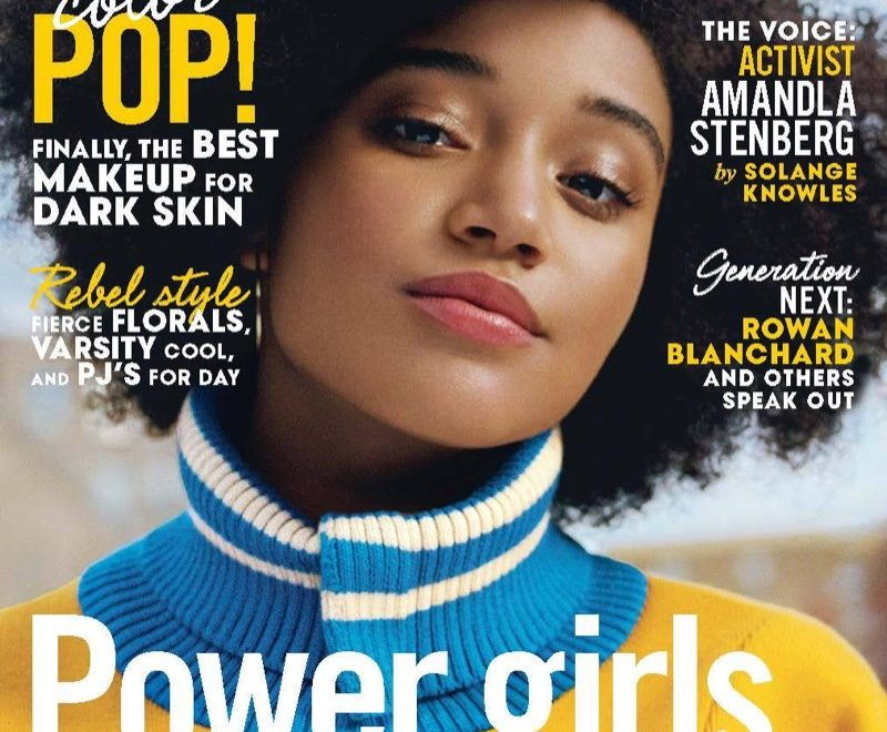 Amandla Stenberg Teen Vogue February