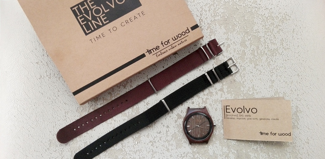 Review: Envolvo wooden clock Time for Wood