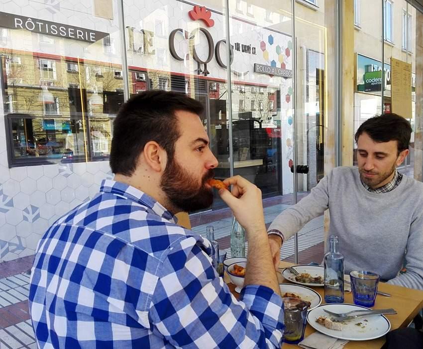 Le Coq con Take Eat Easy (2)