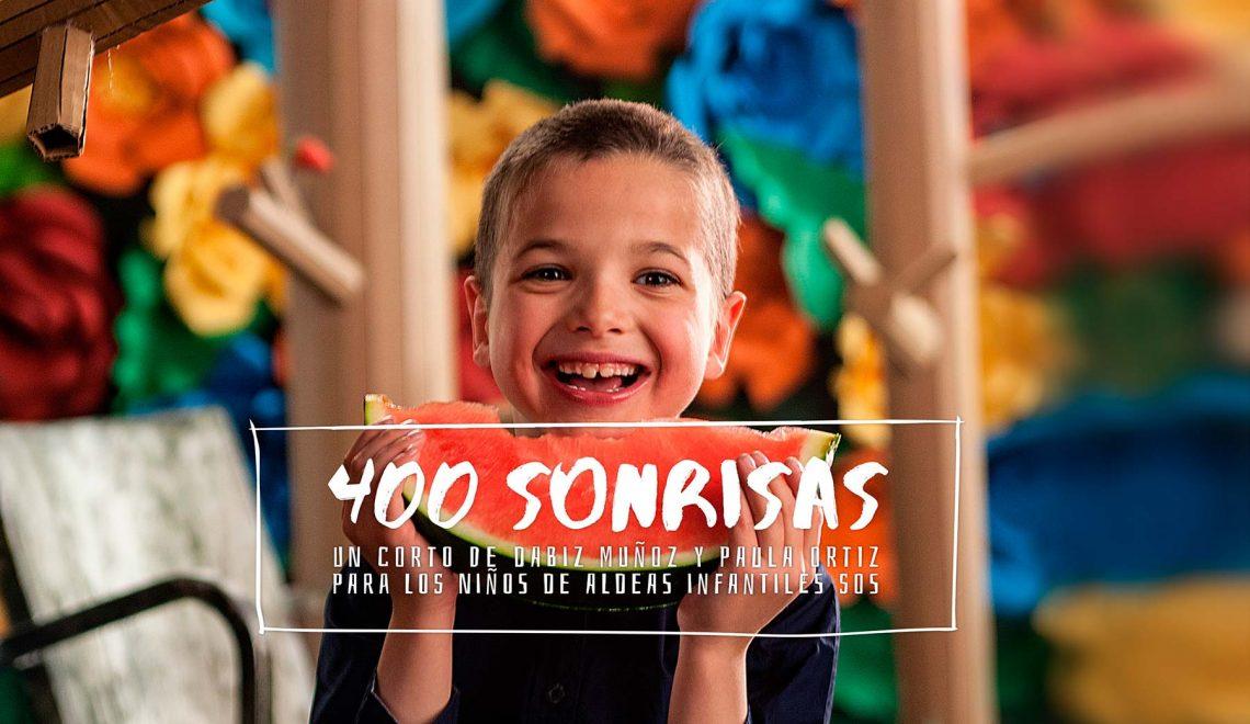 Proyecto Sonrisas, sonríe 400 veces #DonaSonrisas