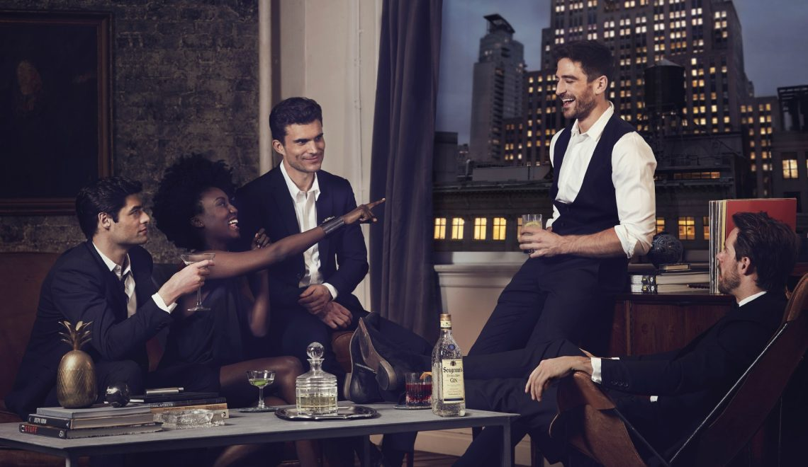 9 stories (to drinks) con Seagram's Gin