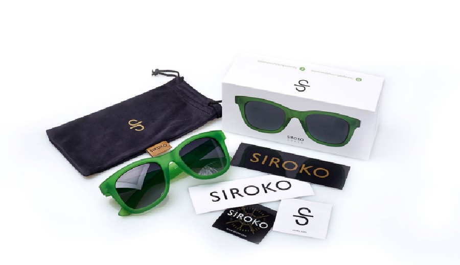 Here we can see the Siroko Green model