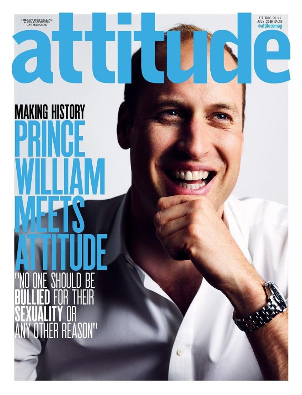 Príncipe William en Attitude (1)