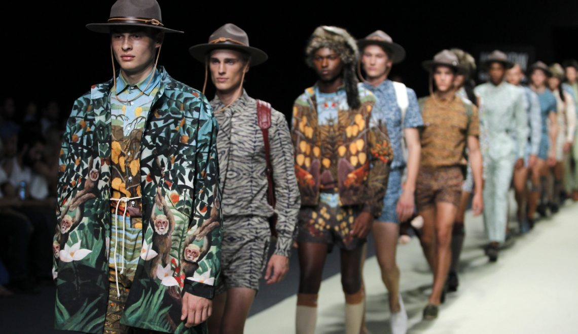 Men MFSHOW chronicled by El Corte Ingles (Proposals menswear spring / summer 2017)