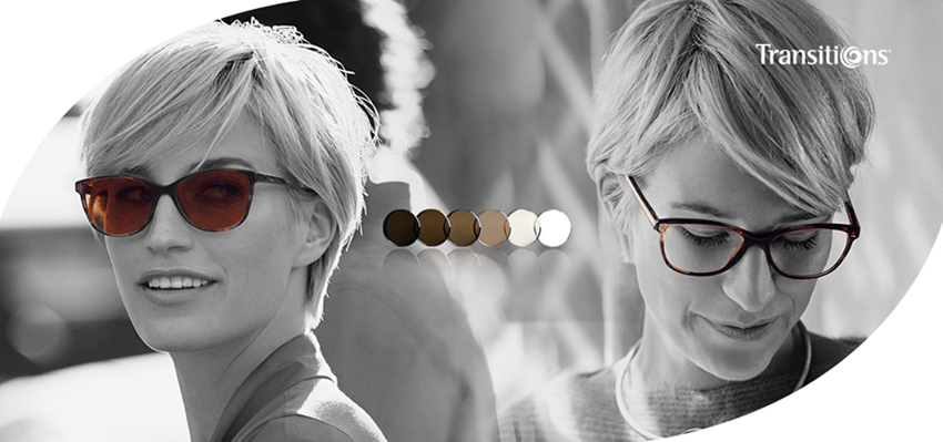 lentes transitions gafas oscurecer