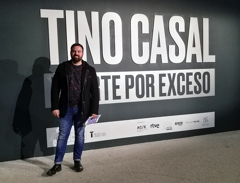 Exhibition Tino Casal Yellow Glasses