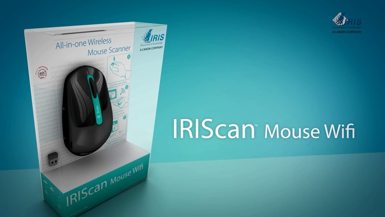 IRIScan Mouse Wifi