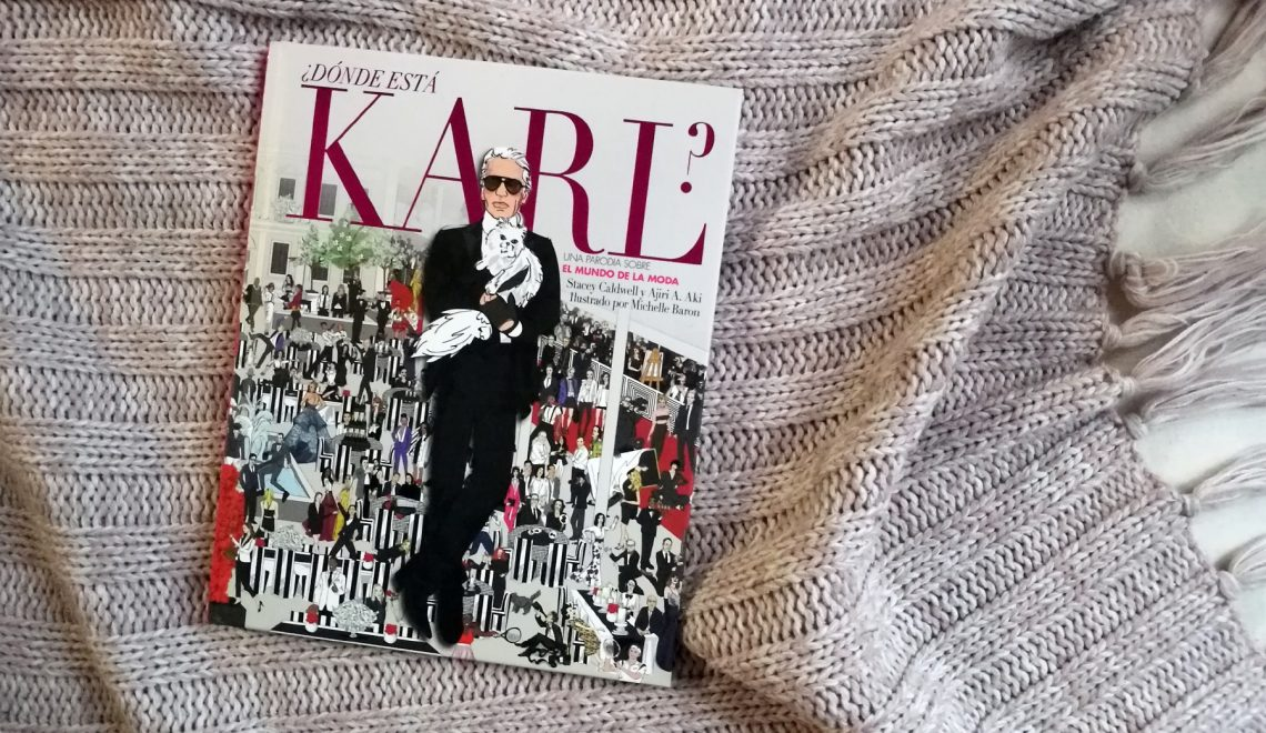 Libro: Where is Karl? (Stacey Caldwell, Hire A. Who, Michelle Baron) 😎