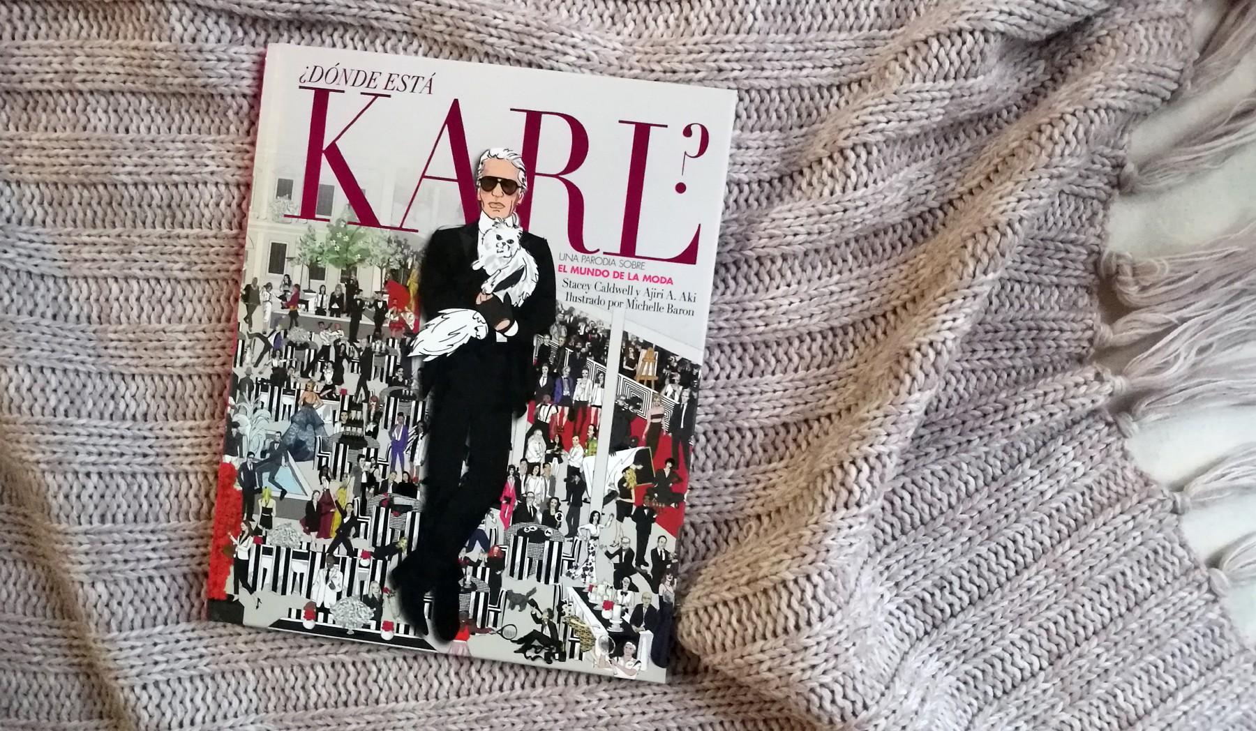 Libro moda ¿Dónde está Karl?