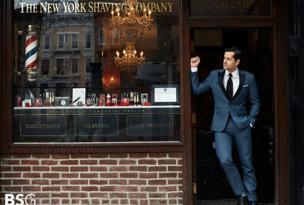 Experiencia Gafas Amarillas: NY Shaving Company en Seagram ́s New York Hotel at Only YOU