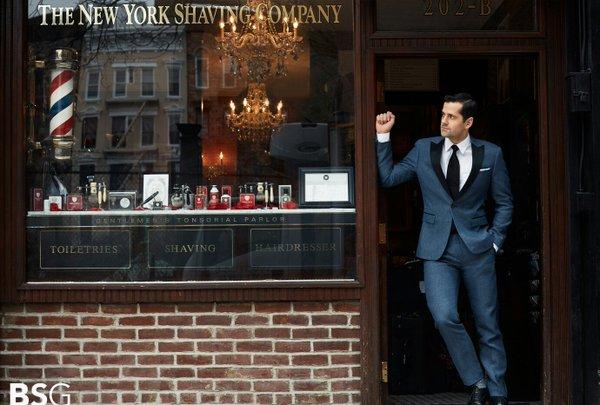 Experiencia Gafas Amarillas: NY Shaving Company en Seagramのニューヨークホテルアットオンリーユー