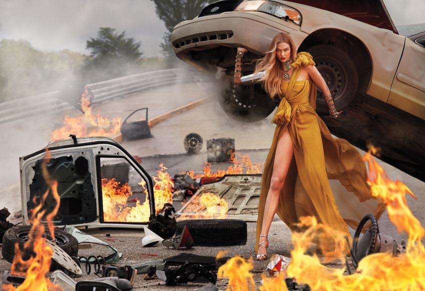 Karlie Kloss, una heroína en InStyle EE (8)