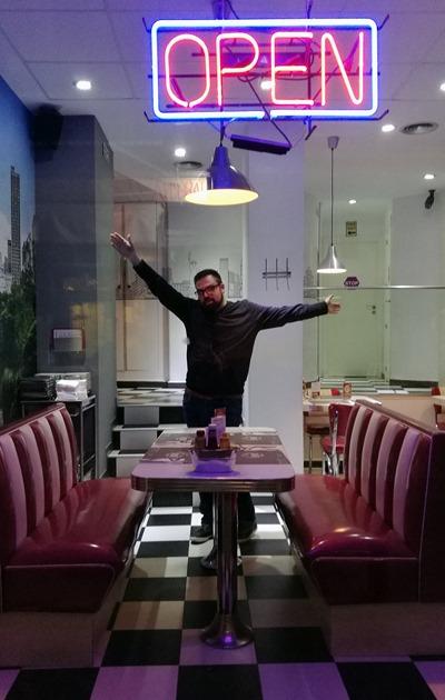 Skyline diner Madrid